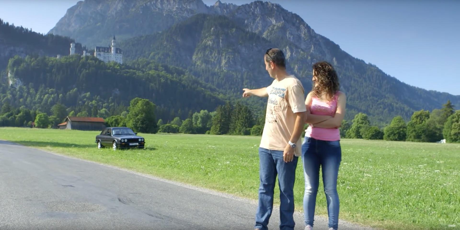 BMW E30 3300 KM To Munich - 2