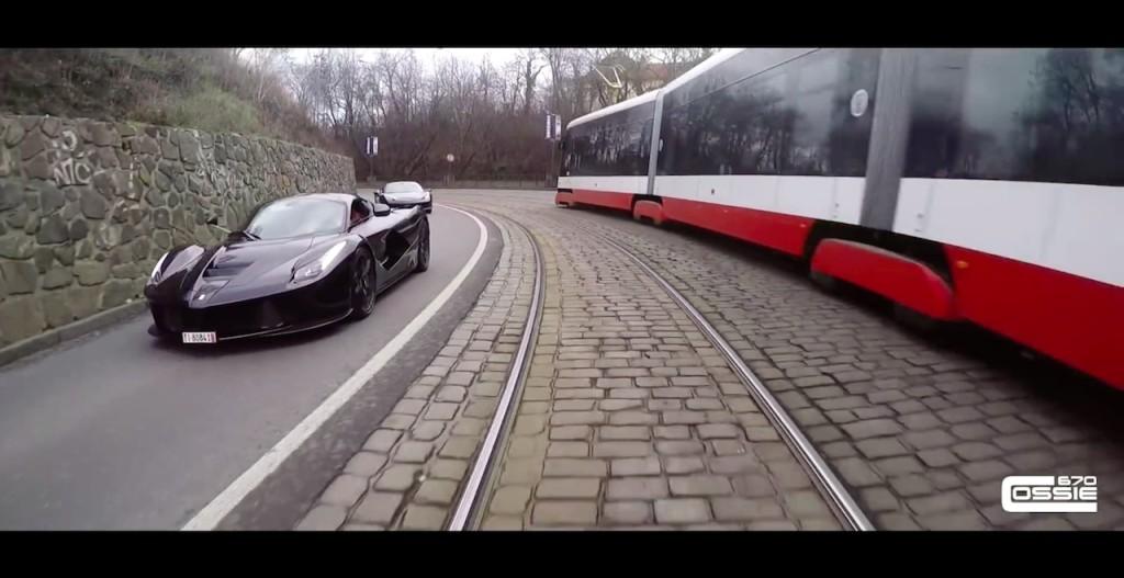 LaFerrari Terrorising Prague Roads - 1