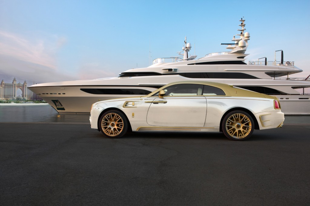 Rolls-Royce Wraith Palm Edition 999 Made By Gold - Exterior