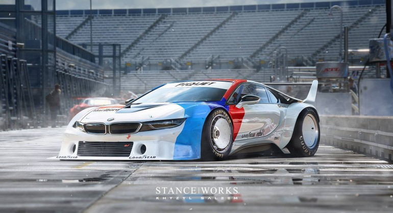 Widebody Stanced Bmw I8 Damnedwerk