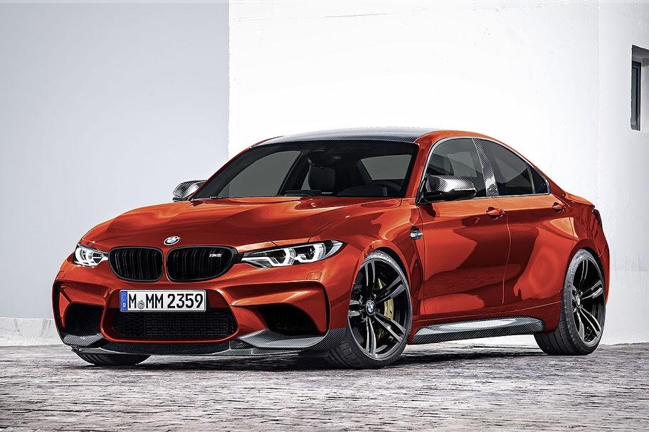 BMW M2 GrandCoupe Modified Sakhir Orange