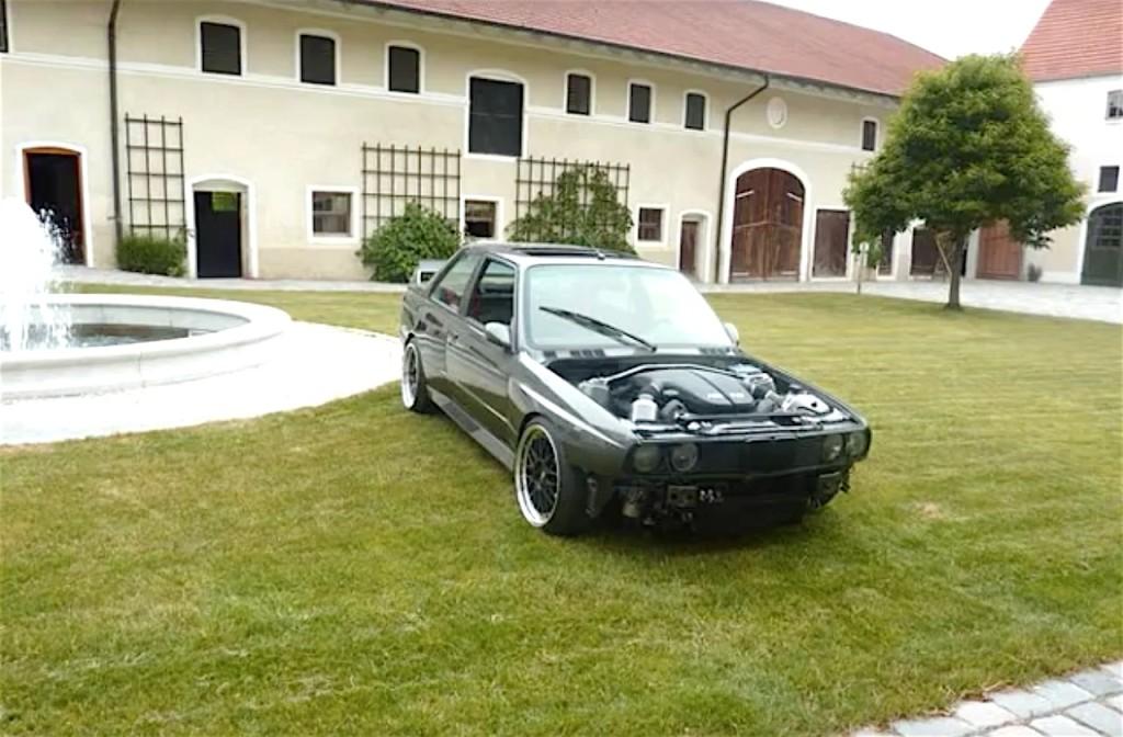 BMW M3 E30 Powered by M6 V10 - 6