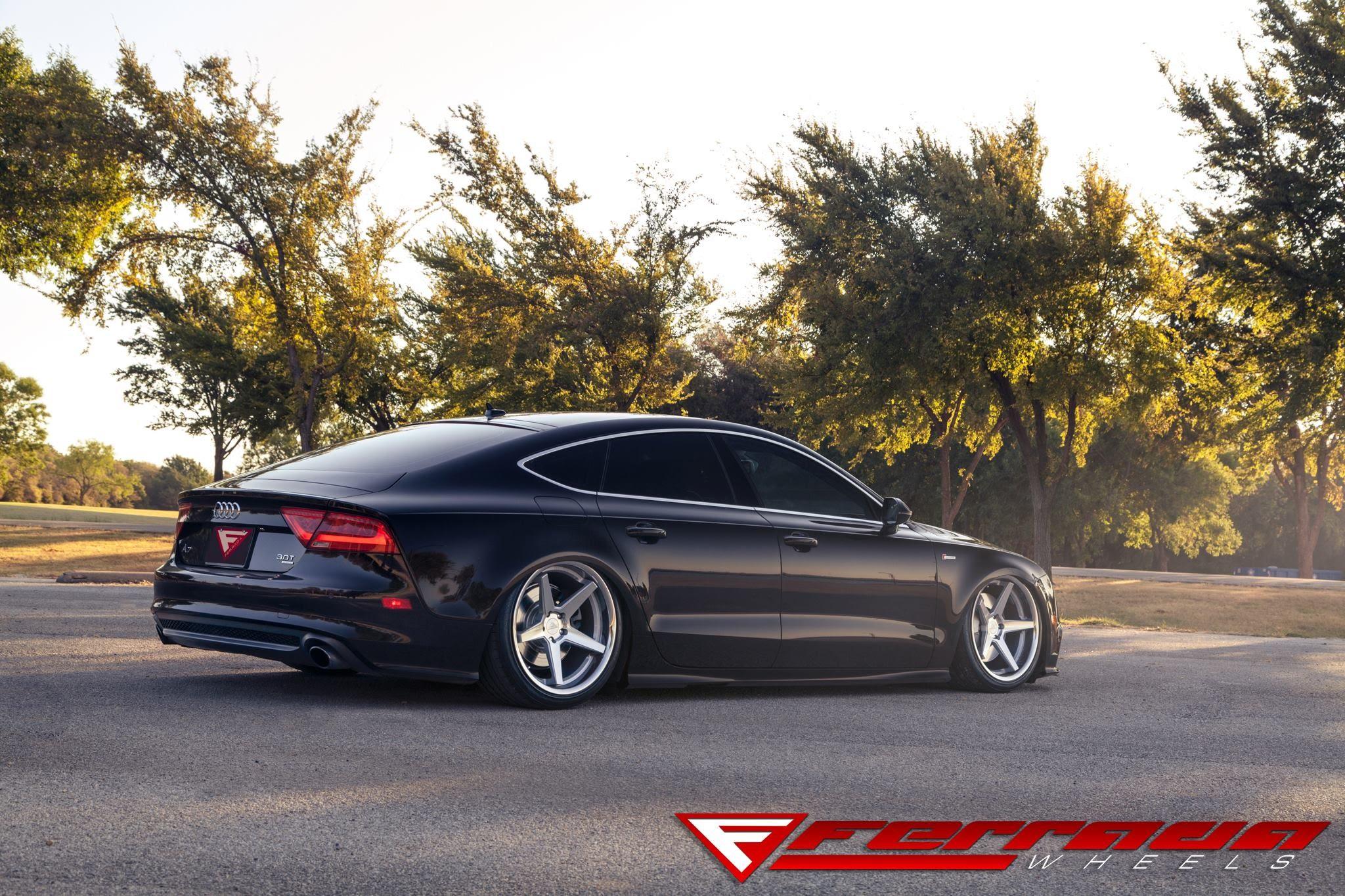 Ferrada Wheels Fr3 On 2014 Audi A7 Damnedwerk