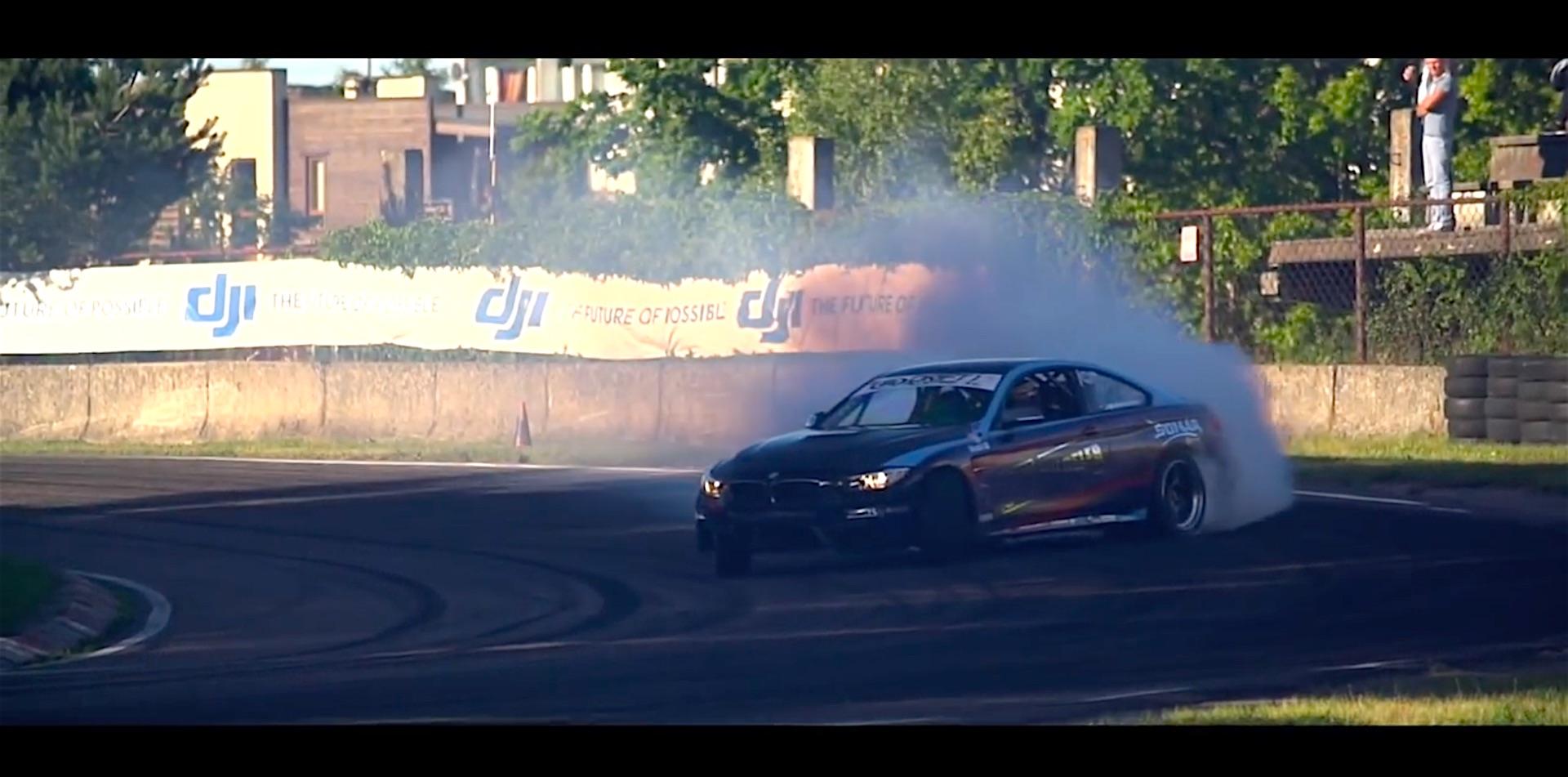Mercedes Long Beach >> Watch World's First BMW M4 Drift Car | DamnedWerk