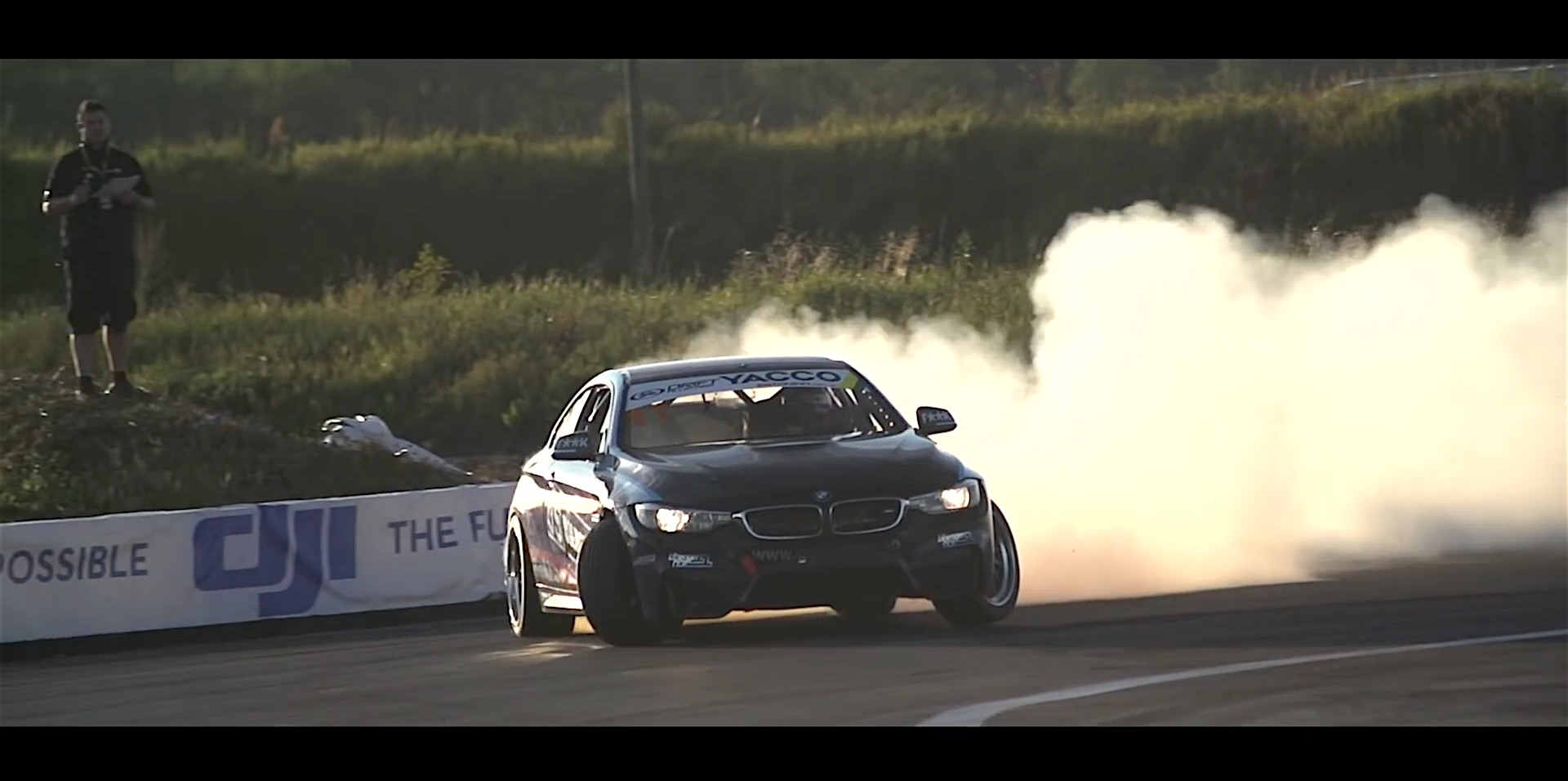Watch World S First Bmw M4 Drift Car Damnedwerk