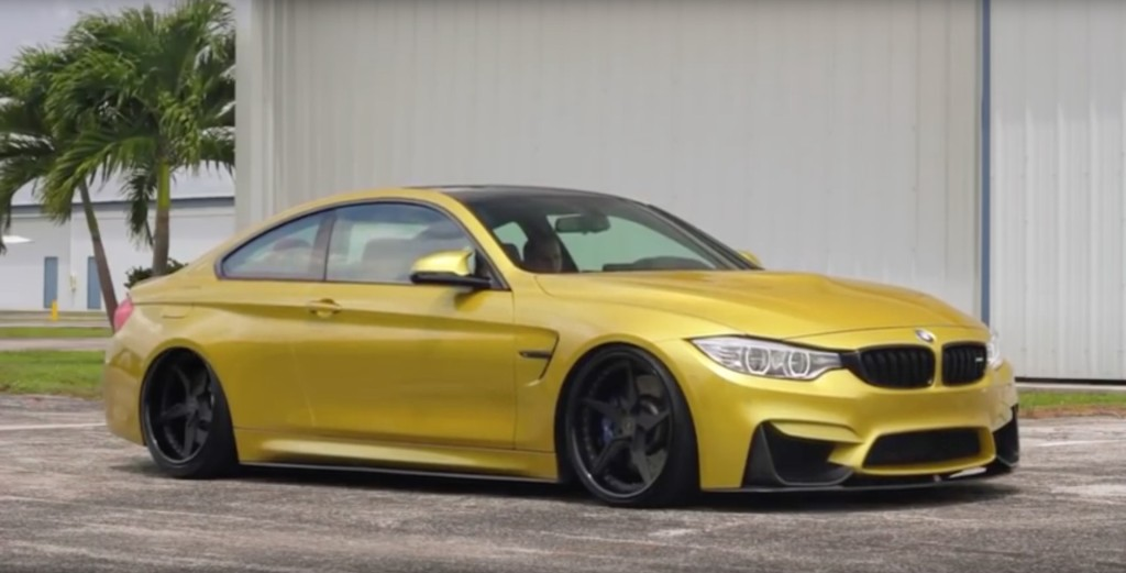 Incurve BMW M4 With AirLift - 6