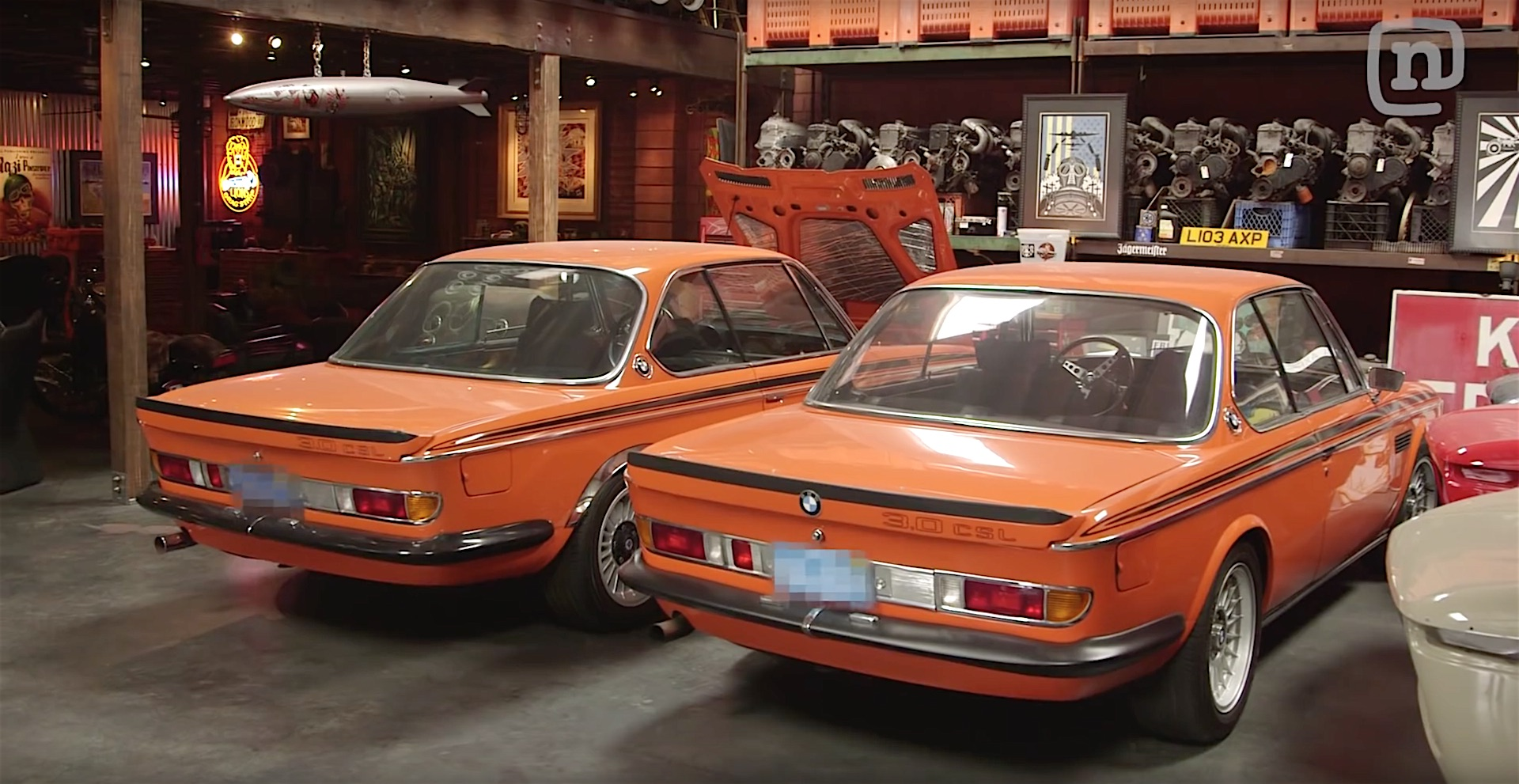 A visit to vintage bmw restoration garage at coupe king for Garage bmw creteil