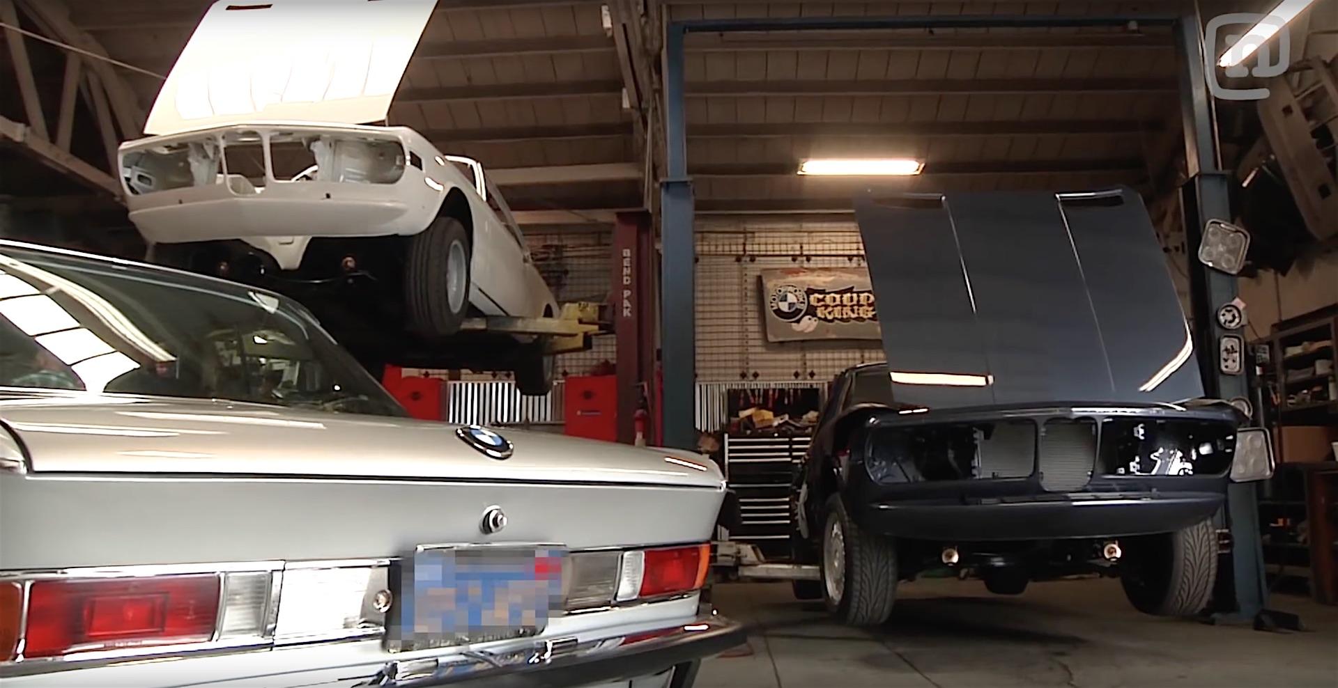 A Visit To Vintage Bmw Restoration Garage At Coupe King
