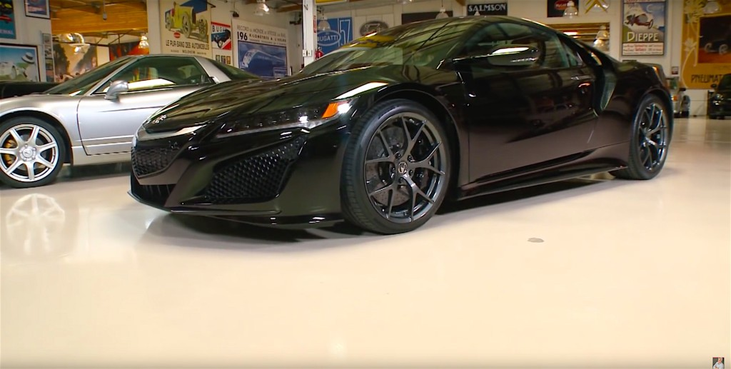 Jay Leno Really Like The New NSX - 3