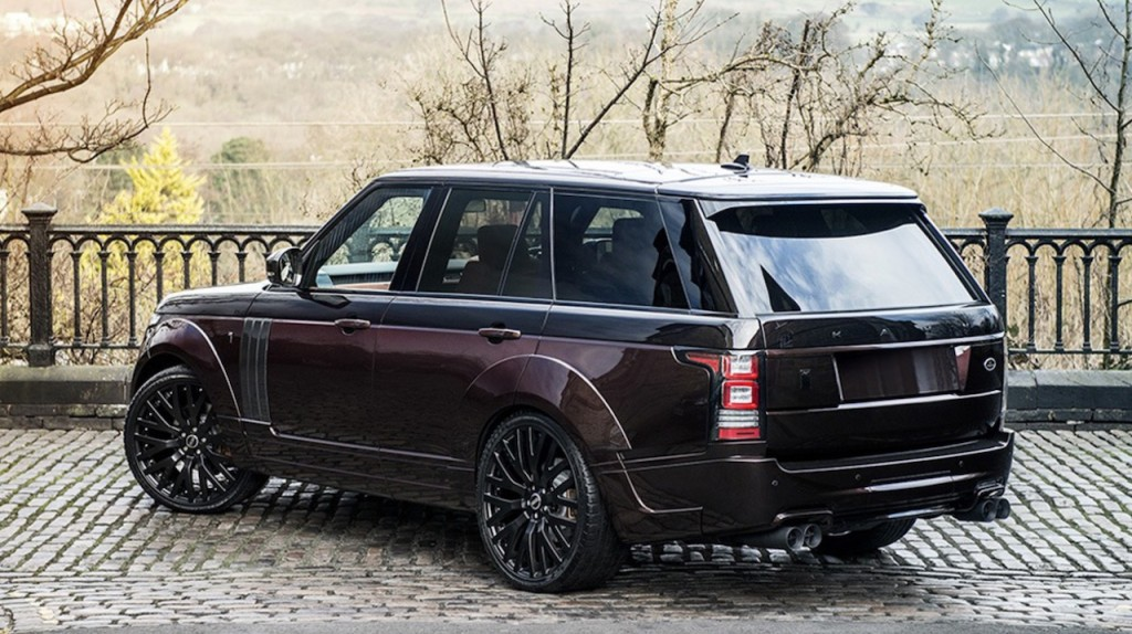 Range Rover RS Pace Cars By Kahn - 3