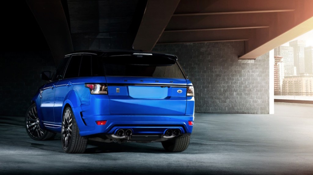 Range Rover Sport RS Pace Cars By Kahn - 2