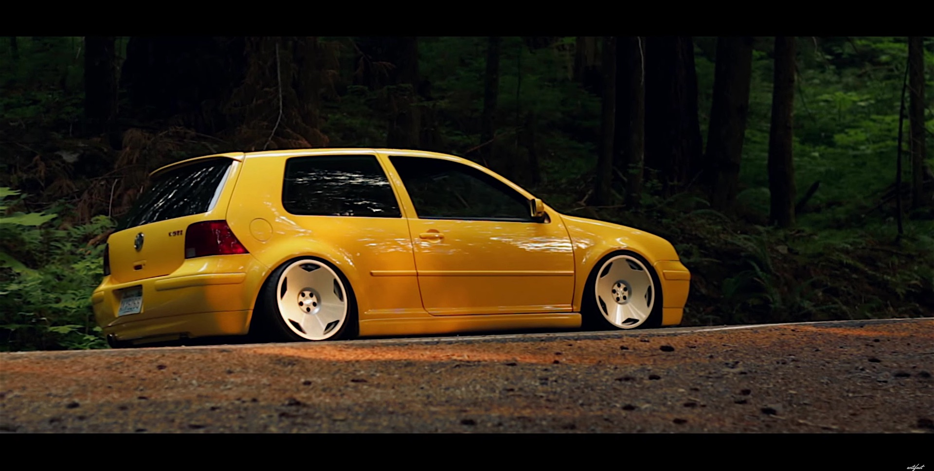 Tesla Model S Custom >> Volkswagen GTi MK4 With Static Suspension | DamnedWerk