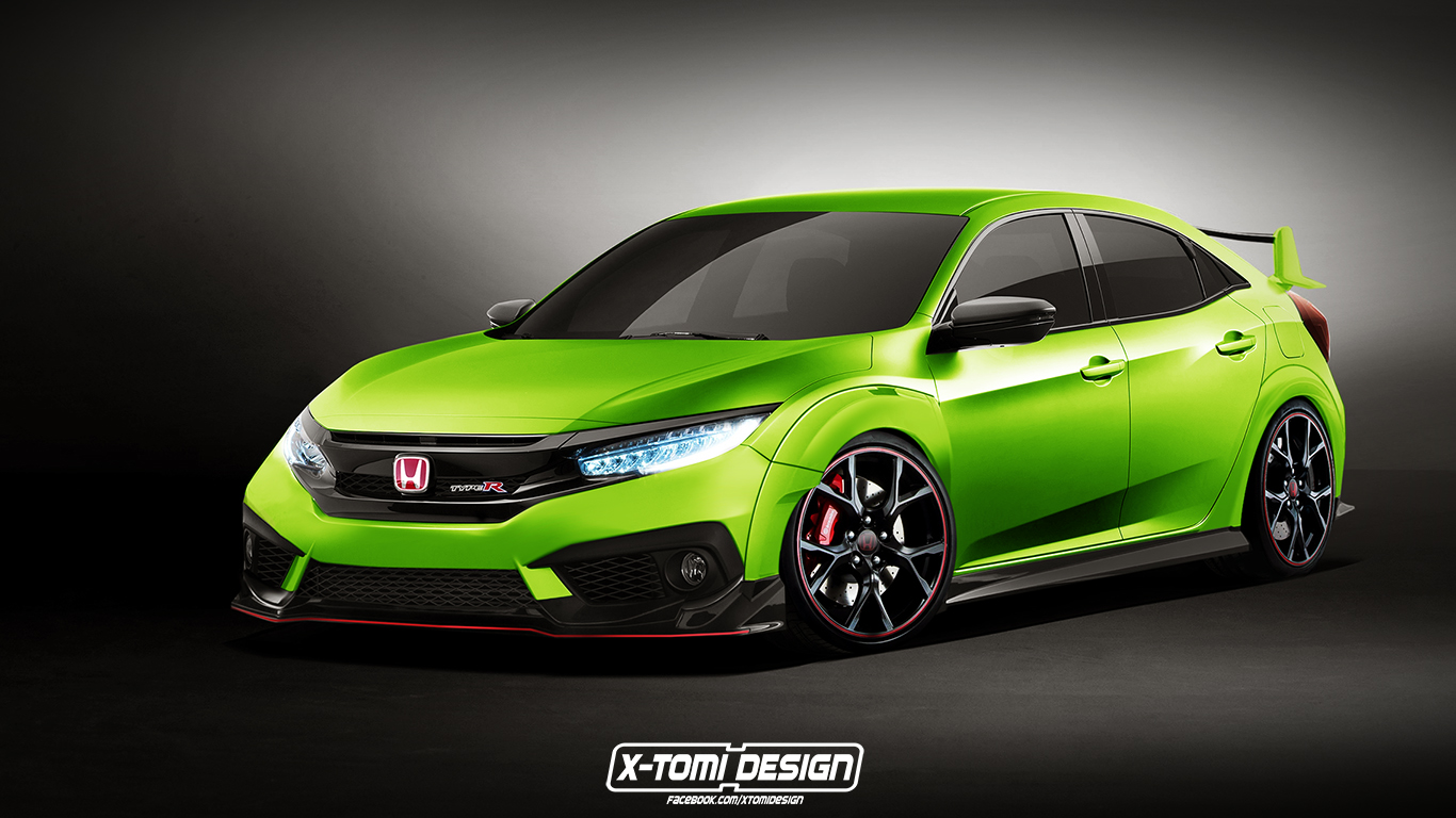 honda-civic-type-r-hatchback-render-1