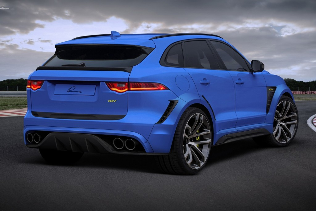 Jaguar F Pace Gets Widebody Kit And 24