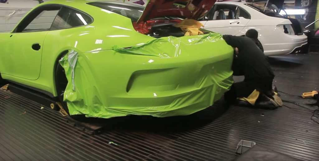 A New Porsche 991 GT3 Acid Green - 8