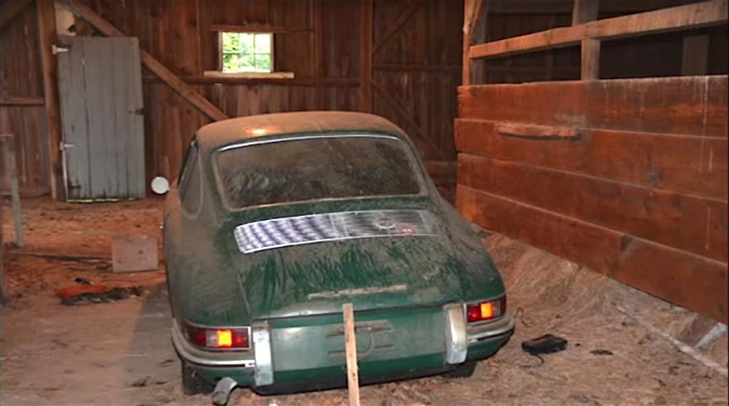 Barn Find 1965 Irish Green Porsche 911 - 1
