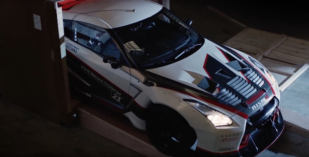 Special Tuned Nissan Gt R Set New World Record For Fastest