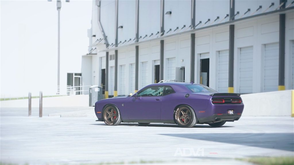 707 HP Dodge Challenger Hellcat ADV1 Wheels - 3