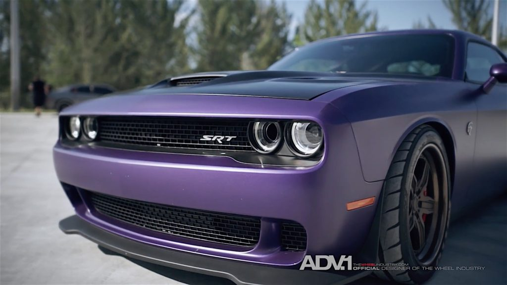 707 HP Dodge Challenger Hellcat ADV1 Wheels - 7