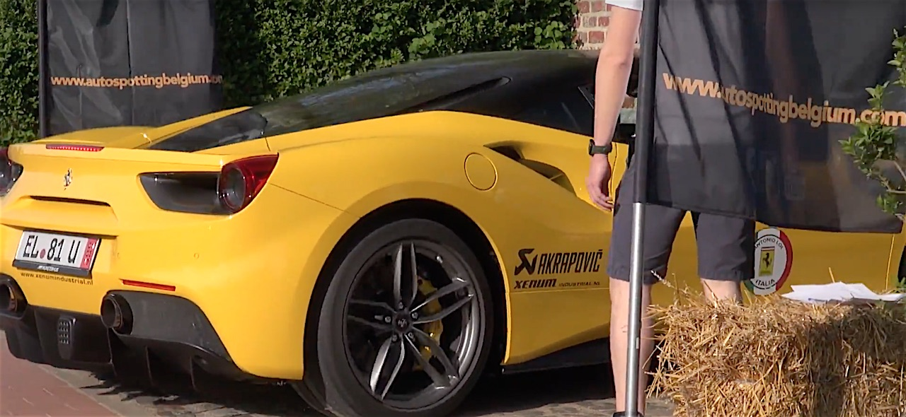 Sound From Ferrari 488 GTB With Akrapovic Exhaust System - 1