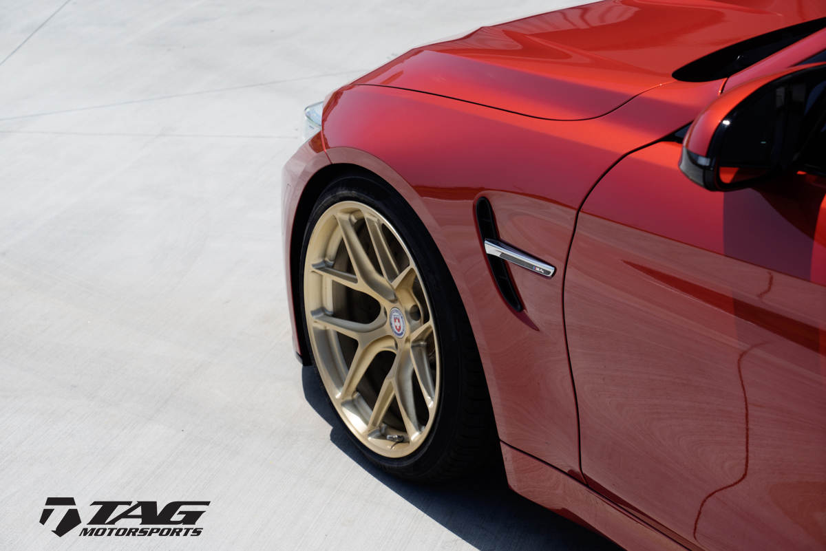 Tag Motorsports Present Sakhir Orange Bmw M4 With Hre R101