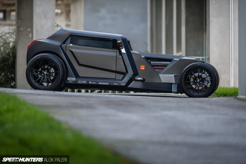 Sbarro Eight Modern Hot Rod Concept - 2