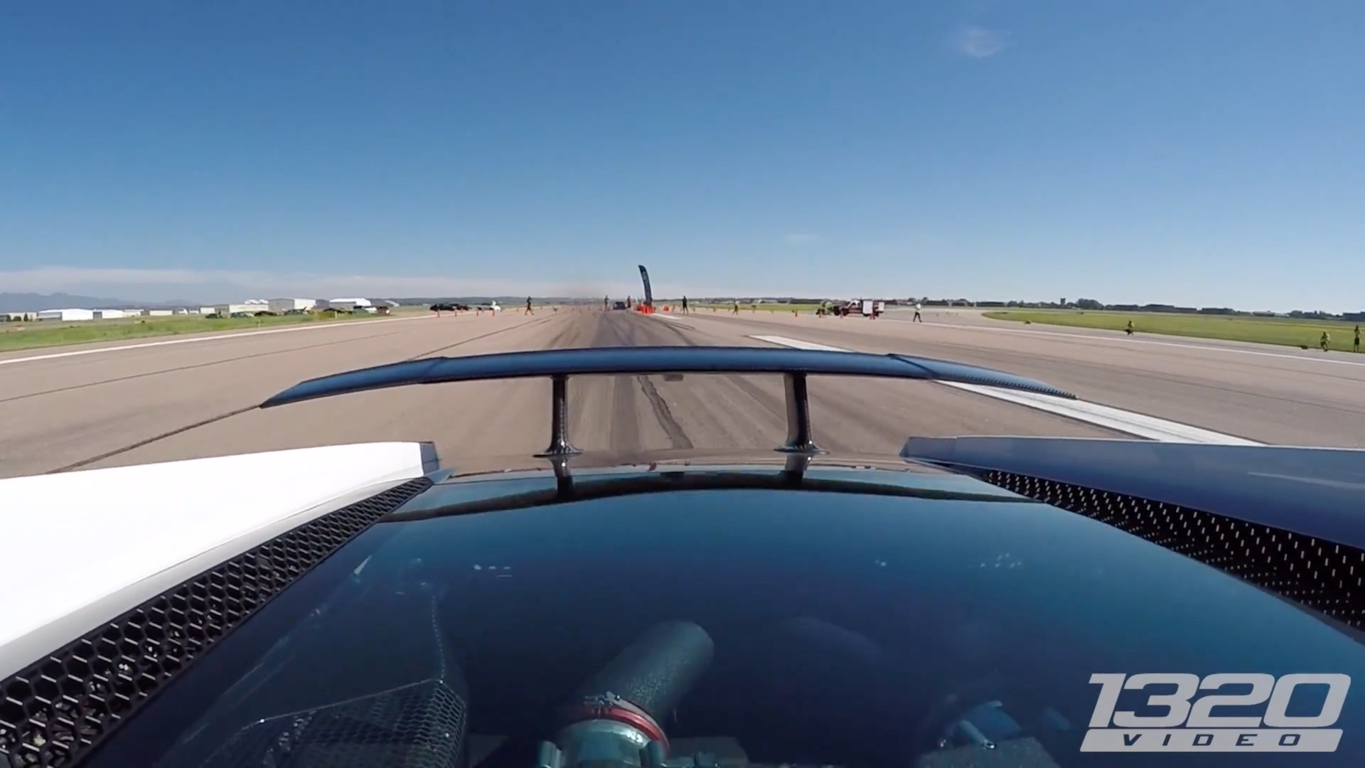 Watch A Lamborghini Superleggera With 2,300HP Set Half Miles World Record Battle - 2