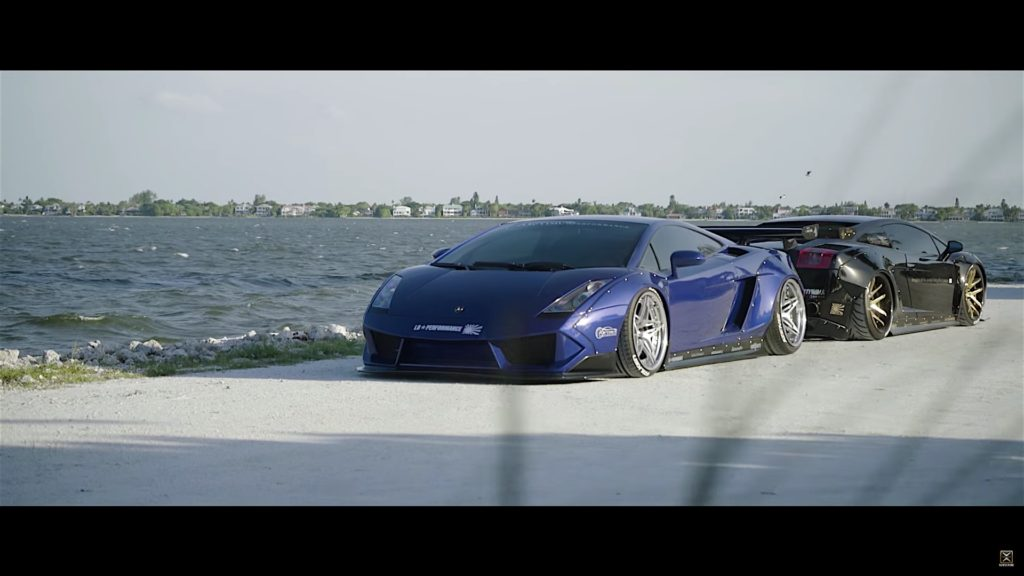 Brilliant Blue Lamborghini Gallardo LB With Twin Turbo By Optimus Performance - 18