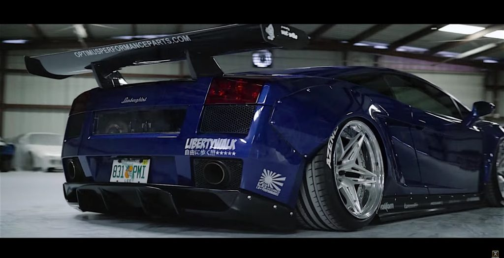 Brilliant Blue Lamborghini Gallardo LB With Twin Turbo By Optimus Performance - 6