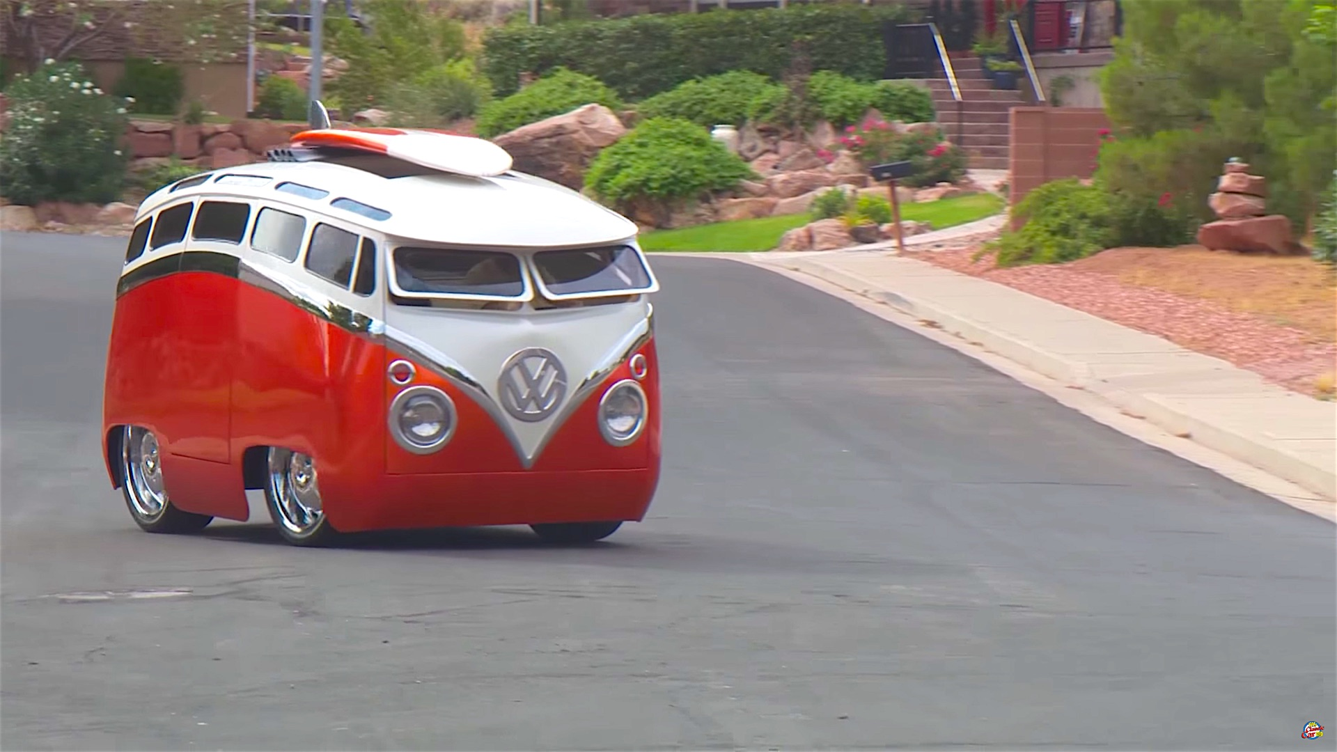 Who Owns Mazda >> A Story of A VW Bus With Cartoon Customs Modification ...