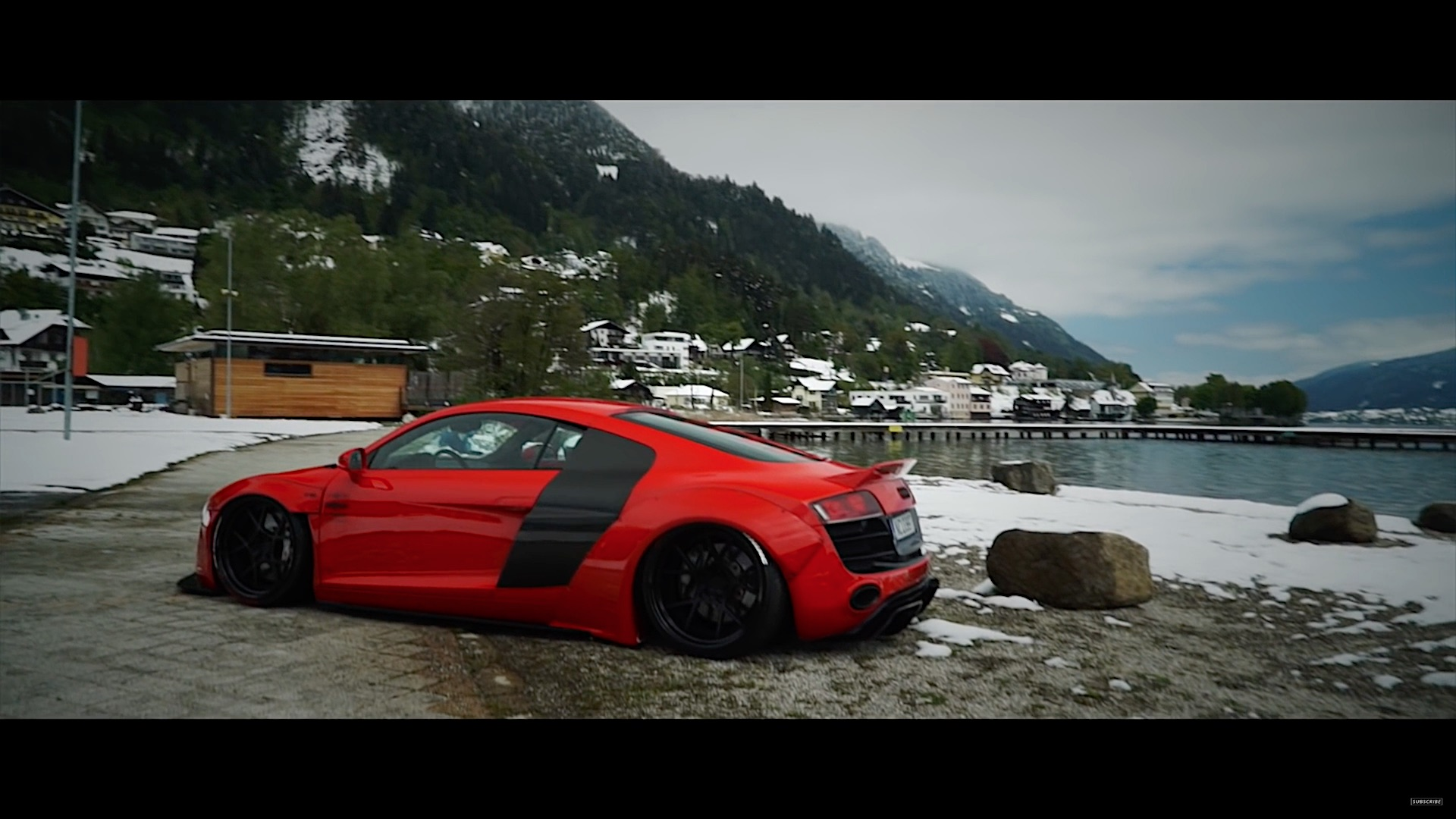Wide Body Liberty Walk Audi R8 V10 Damnedwerk