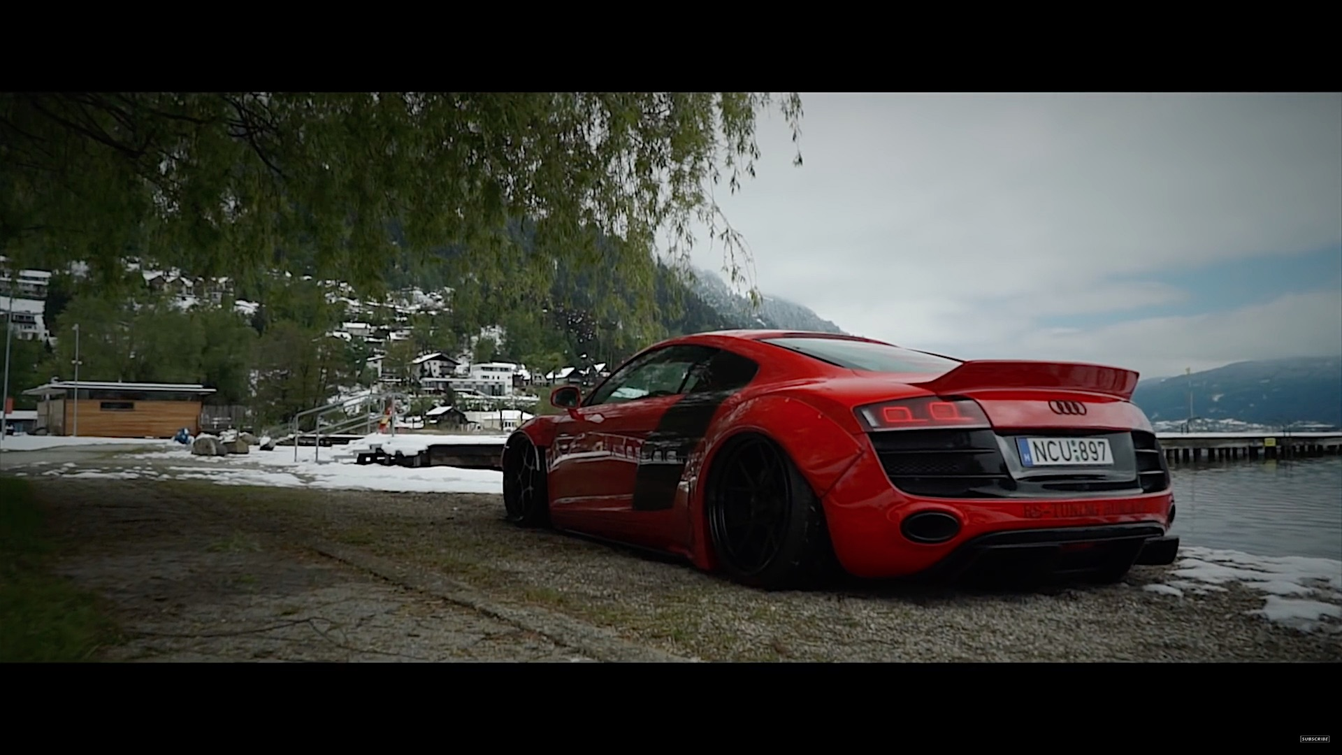 Wide Body Liberty Walk Audi R8 V10 Damnedwerk
