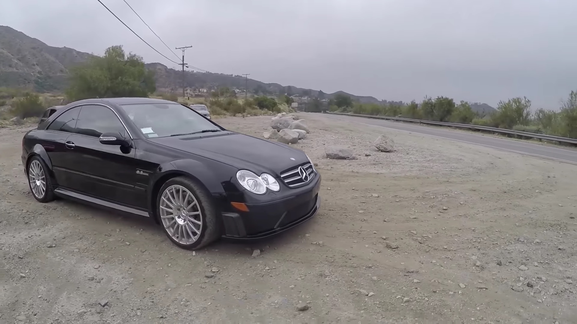 A Comfortable Ride In Mercedes CLK63 AMG Black Series - 5