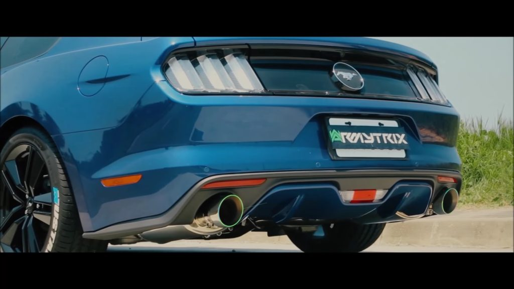 Armytrix Now Offering An Exhaust System For Ford Mustang 2.3L EcoBoost - 7