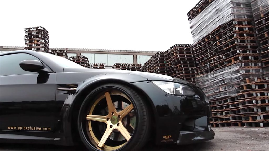 Wide Body BMW E92 M3 With PP Exclusive Deep Concav - 15