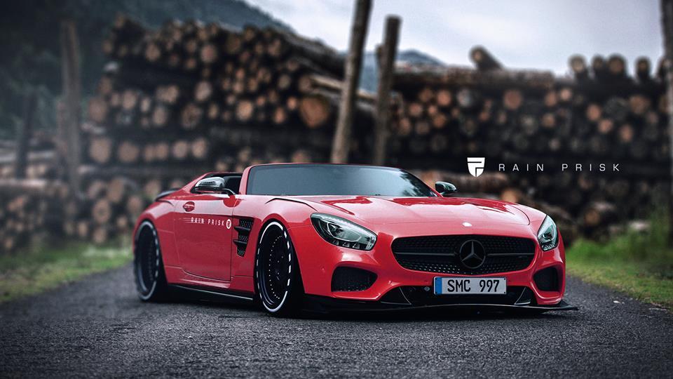 Mercedes Speedster Based On AMG GT