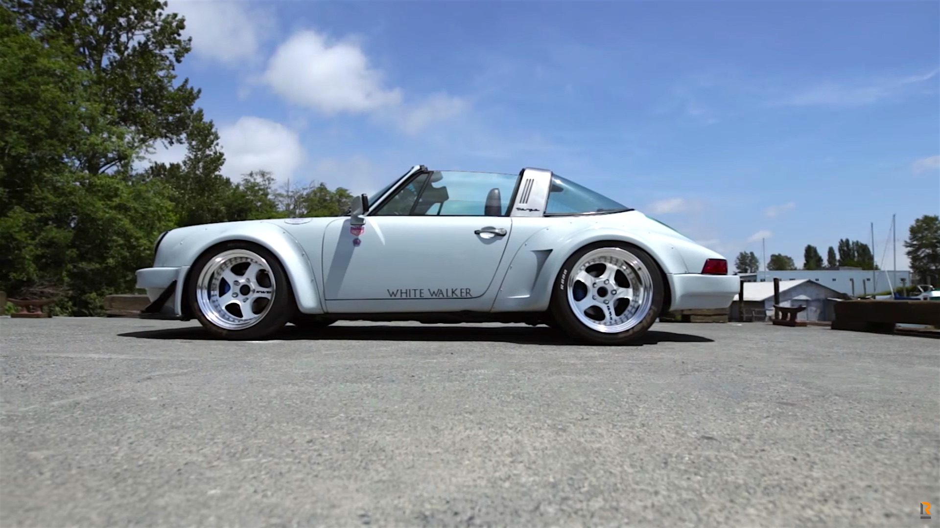 rwb porsche 911 targa white walker damnedwerk. Black Bedroom Furniture Sets. Home Design Ideas