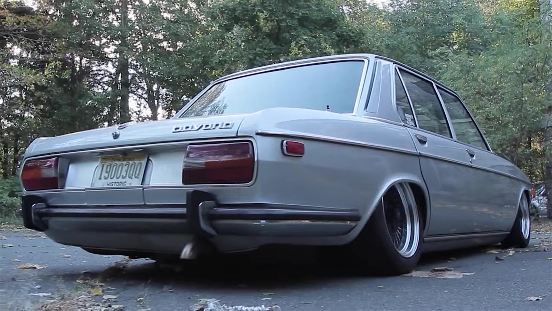 A Rare 1972 Bmw Bavaria Stanced Damnedwerk