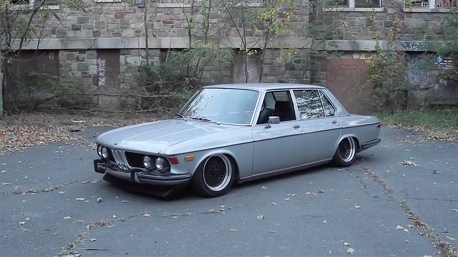 A Rare Bmw Bavaria Stanced