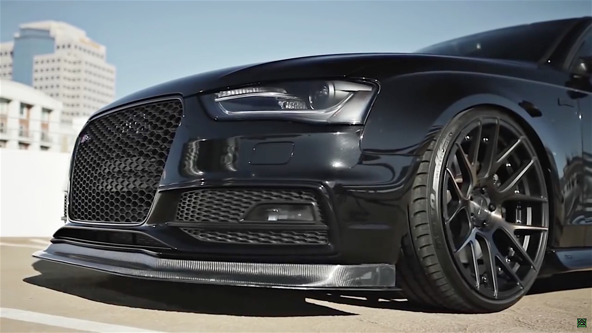 Audi S4 With Armytrix Exhaust System And Stance Wheels