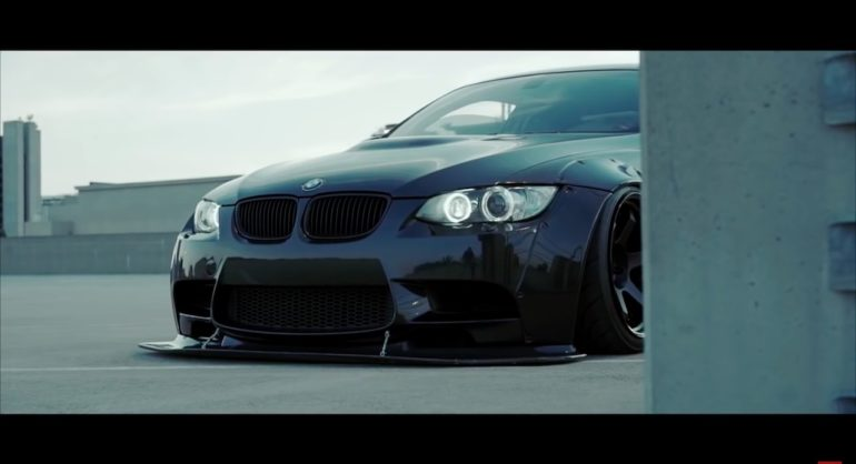 Bmw M3 E92 Wide Body Liberty Walk With Rotiform Wheels Damnedwerk