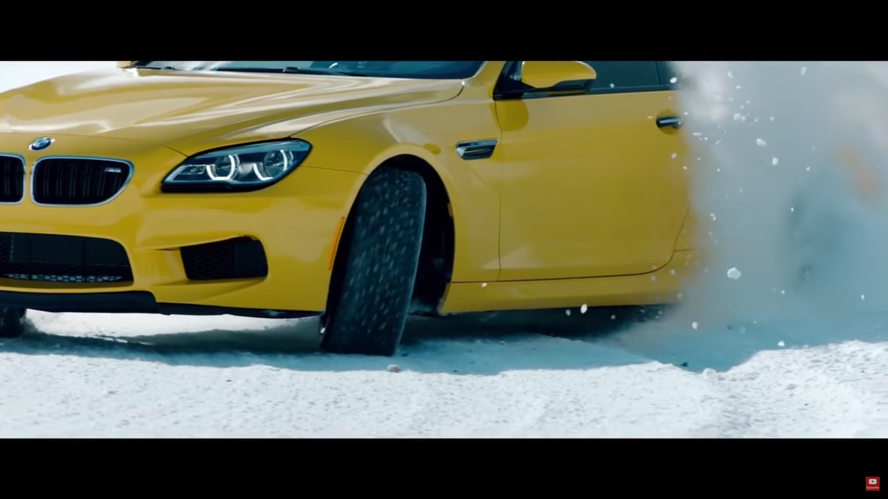 Bmw M6 F13 Crazy Snow Drift Damnedwerk