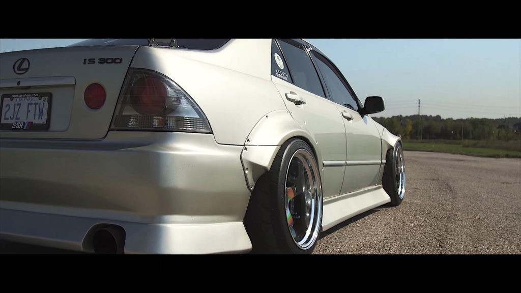 Rocket Bunny Lexus Is300 Altezza Damnedwerk