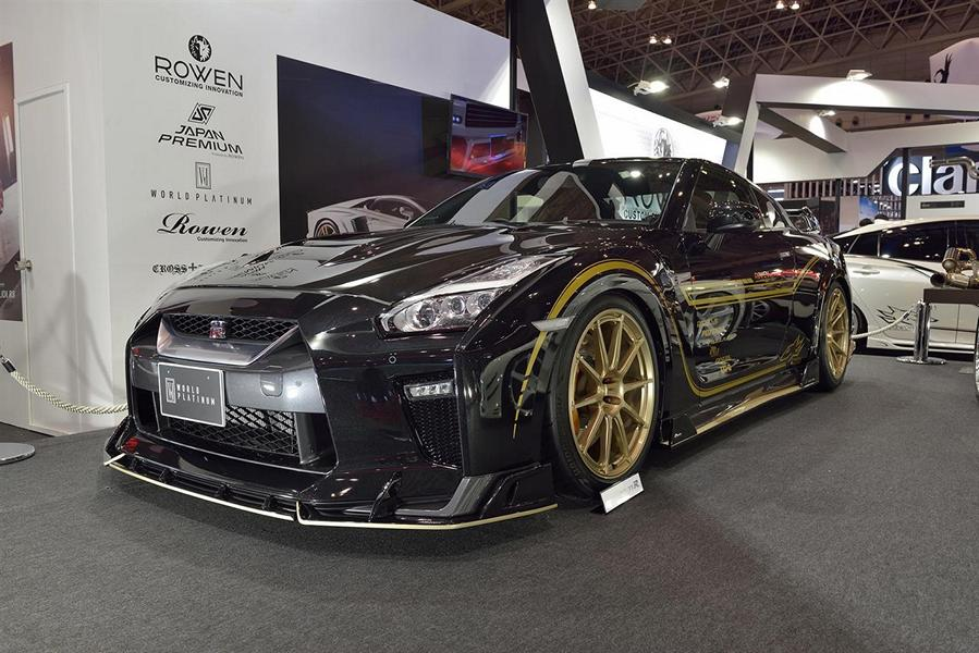 a new body kit for the 2017 nissan gtr damnedwerk. Black Bedroom Furniture Sets. Home Design Ideas