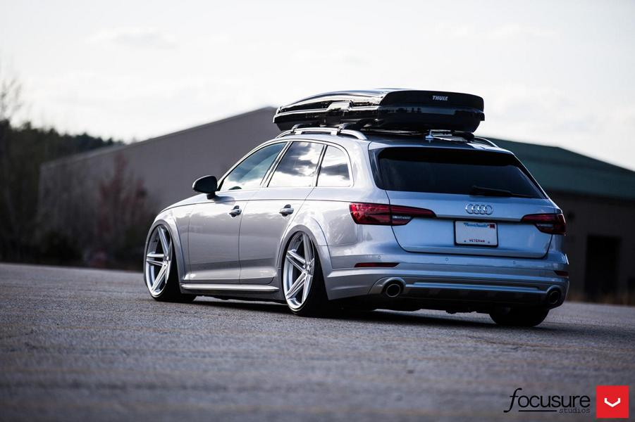 2017 audi a4 avant b9 with 20 inch vossen wheels damnedwerk. Black Bedroom Furniture Sets. Home Design Ideas