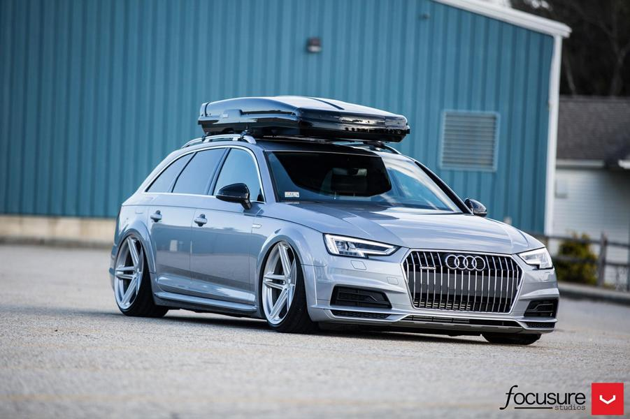 2017 Audi A4 Avant B9 With 20-Inch Vossen Wheels - 4