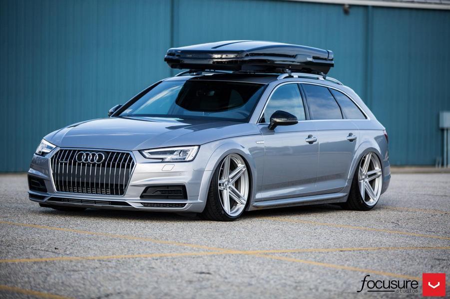 2017 Audi A4 Avant B9 With 20-Inch Vossen Wheels | DamnedWerk