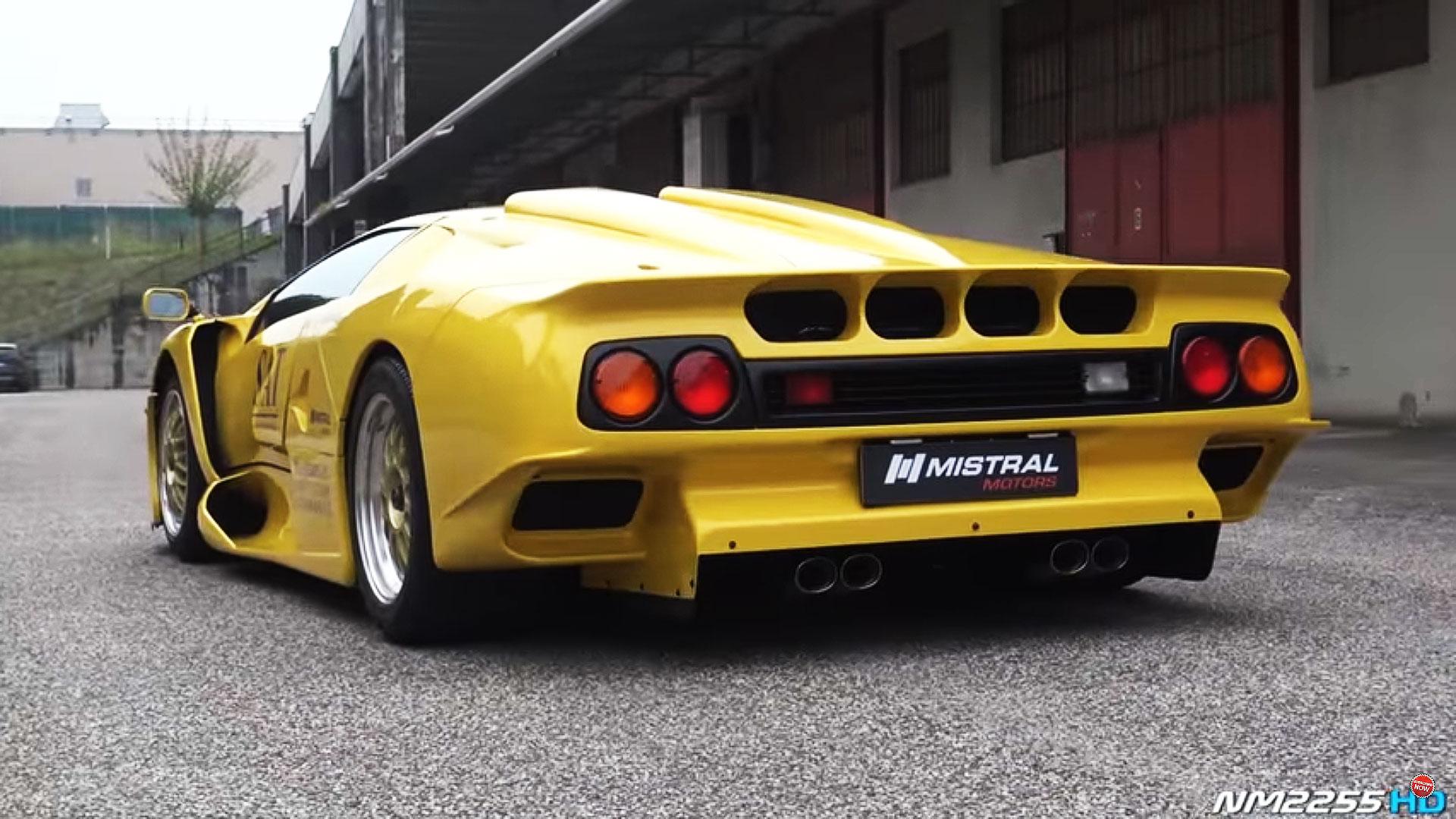 A Rare Lamborghini Diablo GT1 Stradale Walk Through and Start Up - 2