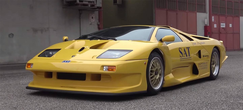 A Rare Lamborghini Diablo GT1 Stradale Walk Through and Start Up - 3