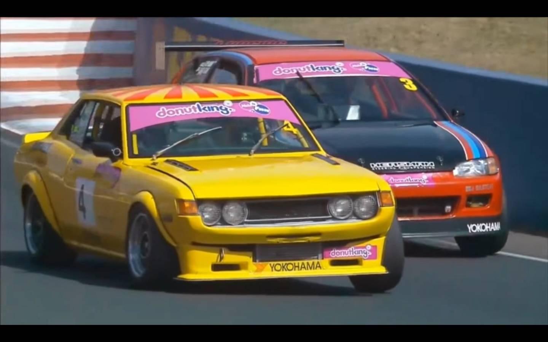 Watch cox s honda civic eg beats other v8 racing cars for V8 honda civic